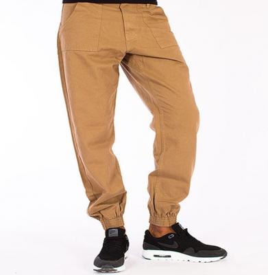 Spodnie EL POLAKO Regular Jogger Miodowo Musztardowe