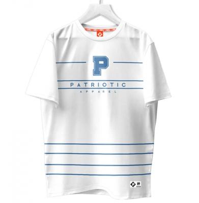 Koszulka PATRIOTIC Pa Collage Biała