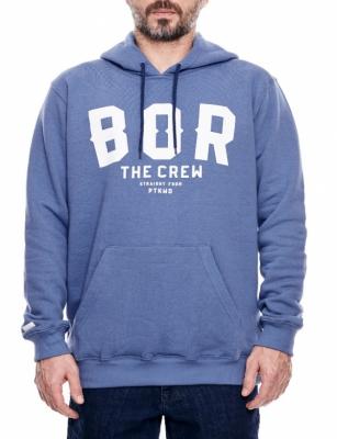 Bluza BOR BORCREW THE CREW Niebieska