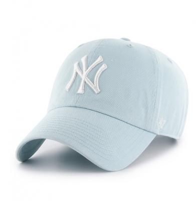 Czapka 47 BRAND New York Yankees Clean Up MAKO Pastel
