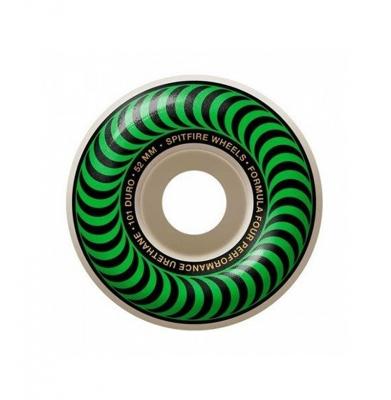 Koła SPITFIRE Formula Four Classic Swirl Green 99 Du 52mm