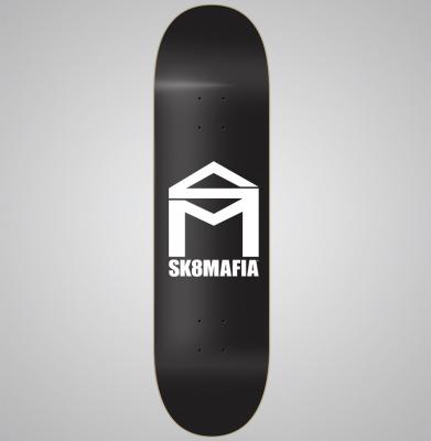 Deska SK8MAFIA HOUSE LOGO BLACK 8,5