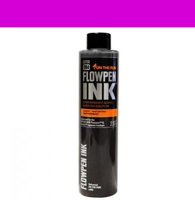 Tusz ON THE RUN Flowpen Ink Dark Pink 210ml