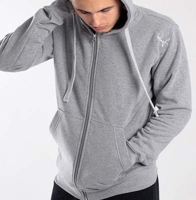 Bluza STOPROCENT BMS ZIP BASE Grey