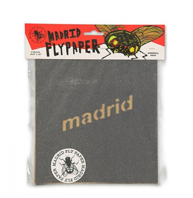 Papier do Longboarda MADRID Flypaper Downhill Griptape 4pak