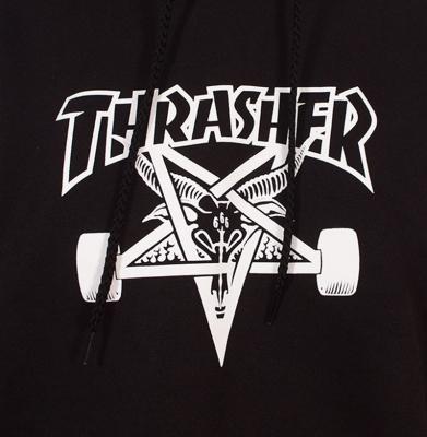 Bluza THRASHER Skategoat Black