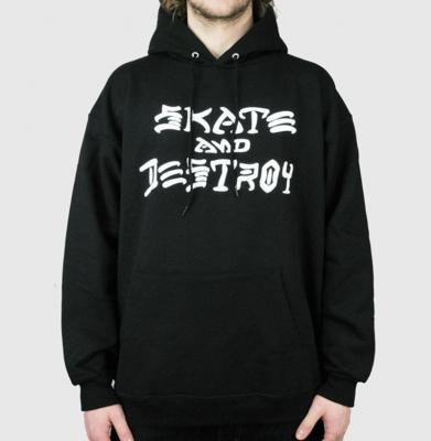 Bluza THRASHER Skate And Destroy Black