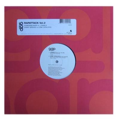 Vinyl J. Rawls  / Lone Catalysts, The  - Rapattack Vol.2
