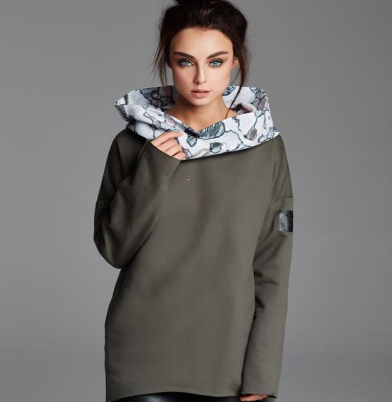 Bluza NAOKO Cosy Stone