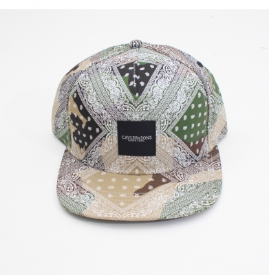 Czapka CAYLER & SONS SNAPBACK BANDAMA COLOR