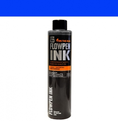 Tusz ON THE RUN Flowpen Ink Royal Blue 210ml