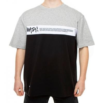 Koszulka MASS DNM Special Lt.Heather/White/Black