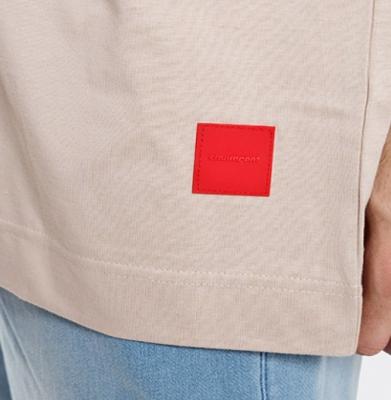 Koszulka STOPROCENT TM TAG18 BAGGY Beige