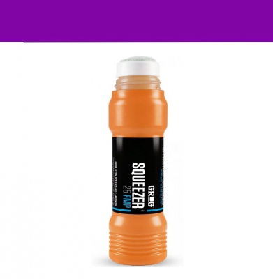Marker GROG Squeezer 25 FMP Goldrake Purple 25mm