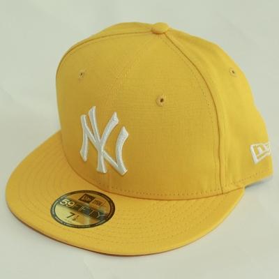 Czapka NY NEW ERA Trimet Żółta