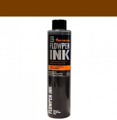 Tusz ON THE RUN Flowpen Ink Hot Chocolate 210ml