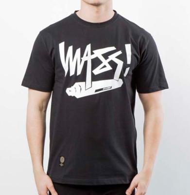 Koszulka MASS DNM Marker Black
