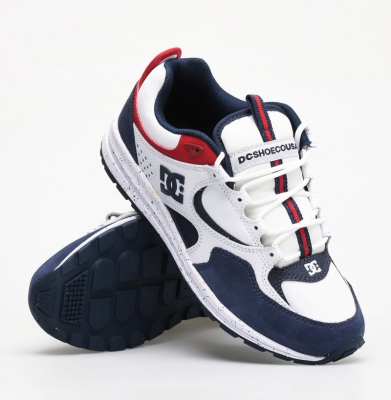 Buty DC Kalis Lite Se white/red/blue