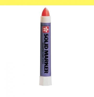 Marker SOLID SAKURA Fluo Yellow 13mm