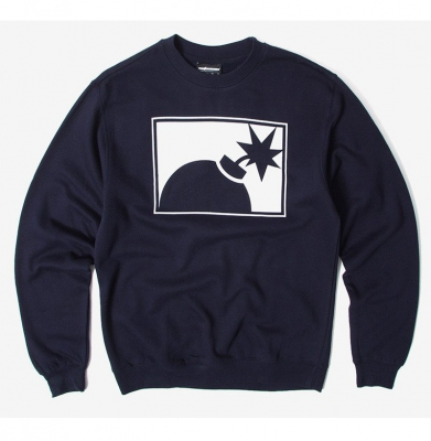 Bluza THE HUNDREDS Forever Half Bomb Navy