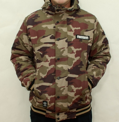 Kurtka MASS DNM DISTRICT '15 Camo