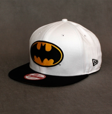 Snapback NEW ERA ''BATMAN'' White/Black