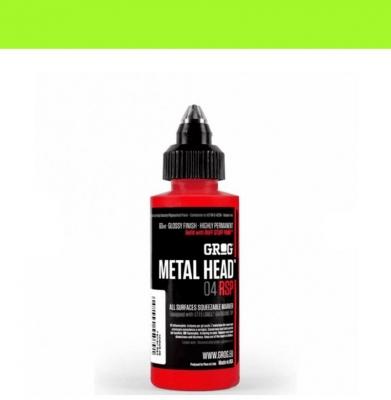 Marker GROG Metal Head 04 RSP Slimer Green 4mm
