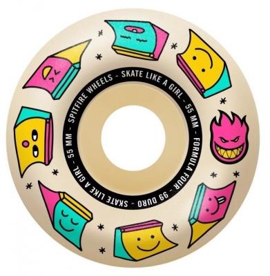 Koła SPITFIRE Skate Like a Girl F4 Radials (Natural) 99du 56