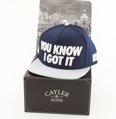 Czapka CAYLER & SONS SNAPBACK JAY KNOWS
