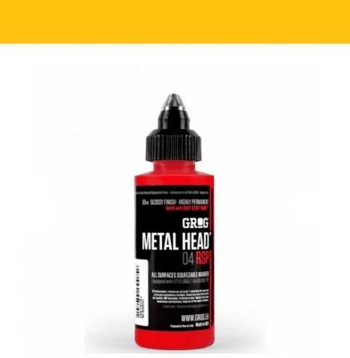 Marker GROG Metal Head 04 RSP Foundry Orange 4mm