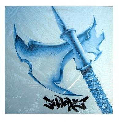Vinyl Dj Zodak - Zowaxe-A Battle Break Record