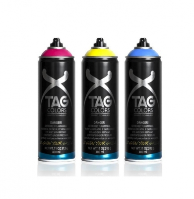 TAG COLORS Color Pack 6 x 400ml