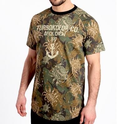 Koszulka TURBOKOLOR DECK CREW DC Camo