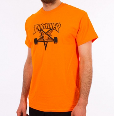 Koszulka THRASHER SK8Goat Orange