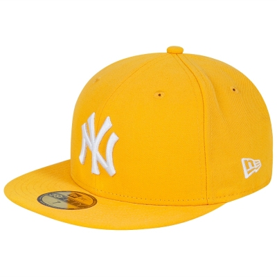 Czapka NY NEW ERA Antique Gold/White