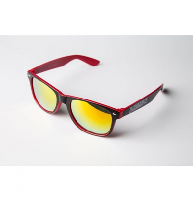 Okulary DIAMANTE WEAR 'Diamante 3' Czerwone