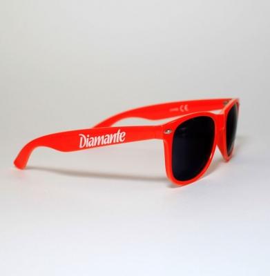 Okulary DIAMANTE WEAR Pomarańczowe