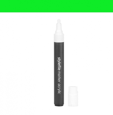 Marker STYLEFILE Acrylic Single Marker Green 4mm