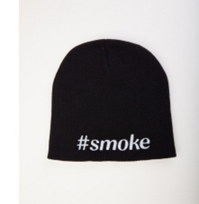 Czapka DIAMANTE 'Smoke Hashtag Czarna