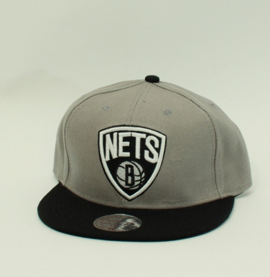 Czapka MITCHELL & NESS SNAPBACK NETS GREY/BLACK