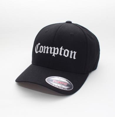 Czapka YUPOONG COMPTON Flexfit White/Black