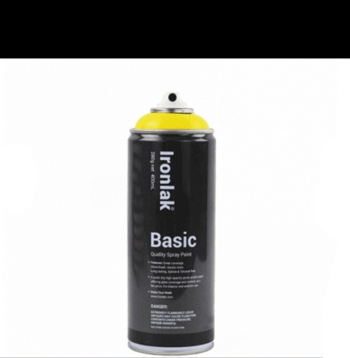 Farba IRONLAK BASIC PAINT Gloss Black BS001