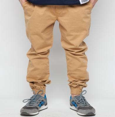 Spodnie DIAMANTE WEAR 'Jogger Classic' Miodowe 2