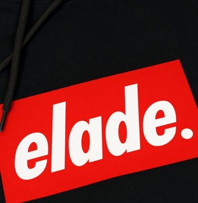 Bluza ELADE HOODIE BOX LOGO BLACK