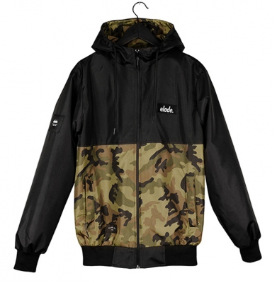 Kurtka ELADE RAINFOREST SUMMER JACKET BLACK/CAMO