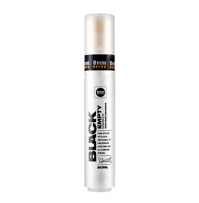 Marker MONTANA BLACK ROUND Empty 8mm