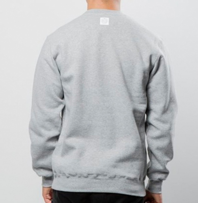 Bluza MASS DNM Crewneck Base Light Heather Grey
