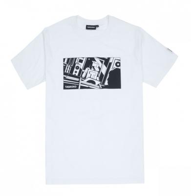 Koszulka TABASKO VINYLSHOP White