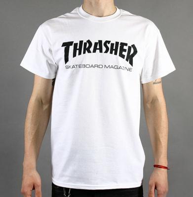 Koszulka THRASHER Mag White