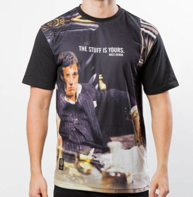 Koszulka MASS DNM Scarface Black